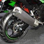 Kawasaki Ninja 250 SL exhaust at the 2015 Tokyo Motor Show