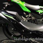 Kawasaki Ninja 250 SL seat at the 2015 Tokyo Motor Show
