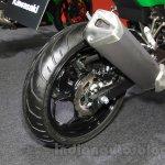 Kawasaki Z250 SL exhaust at the 2015 Tokyo Motor Show