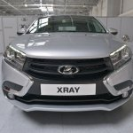 Lada XRAY front undisguised