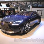 Lexus LF-FC concept front quarter at the 2015 Tokyo Motor Show