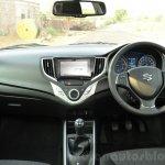 Maruti Baleno Diesel dashboard Review