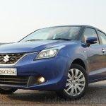 Maruti Baleno Diesel front quarter Review