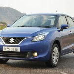 Maruti Baleno Diesel front quarters Review