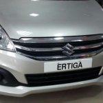 Maruti Ertiga front arrives at dealerships