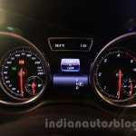Mercedes GLE instrument cluster India launch