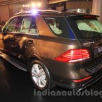 Mercedes GLE rear left quarter India launch