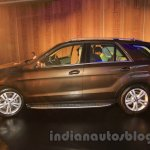 Mercedes GLE side India launch