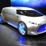 Mercedes Vision Tokyo front three quarter at the 2015 Tokyo Motor Show