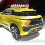 Mitsubishi eX Concept rear three quarters left at the Tokyo Motor Show 2015