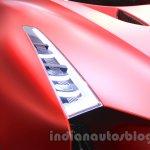 Nissan Concept 2020 Vision Gran Turismo headlight at the 2015 Tokyo Motor Show