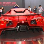 Nissan Concept 2020 Vision Gran Turismo rear at the 2015 Tokyo Motor Show