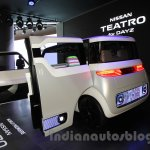 Nissan Teatro for Dayz concept rear angle at the 2015 Tokyo Motor Show