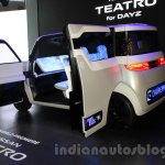 Nissan Teatro for Dayz concept rear quarter at the 2015 Tokyo Motor Show