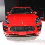 Porsche Macan GTS front at 2015 Tokyo Motor Show