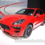 Porsche Macan GTS front quarter at 2015 Tokyo Motor Show