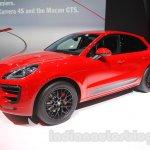Porsche Macan GTS front three quarter at 2015 Tokyo Motor Show
