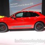 Porsche Macan GTS side at 2015 Tokyo Motor Show