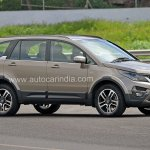 Pre-production Tata Hexa crossover front three quarter (1) In Images