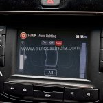 Pre-production Tata Hexa crossover infotainment display In Images