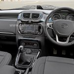 Pre-production Tata Hexa crossover interior In Images