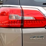 Pre-production Tata Hexa crossover taillamp In Images