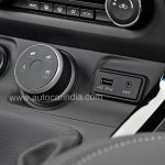 Pre-production Tata Hexa crossover drive mode selector In Images