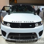 Range Rover Sport SVR front at IAA 2015