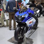 Suzuki GSX-R1000 ABS 30th Anniversary Edition front three quarters