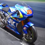 Suzuki GSX-RR front three quarters