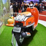 Suzuki Hustler Scoot rear quarter at the 2015 Tokyo Motor Show