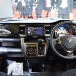 Suzuki Hustler facelift dashboard at the 2015 Tokyo Motor Show