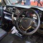 Suzuki Hustler facelift interior at the 2015 Tokyo Motor Show