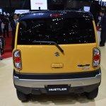Suzuki Hustler facelift rear at the 2015 Tokyo Motor Show