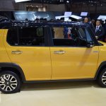 Suzuki Hustler facelift side at the 2015 Tokyo Motor Show