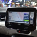 Suzuki Ignis media system at 2015 Tokyo Motor Show
