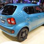 Suzuki Ignis rear quarter at 2015 Tokyo Motor Show