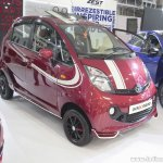 Tata GenX Nano front quarter with sunroof at APS 2015