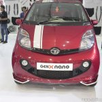 Tata GenX Nano front with sunroof at APS 2015