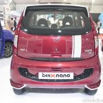 Tata GenX Nano rear with sunroof at APS 2015