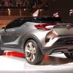 Toyota C-HR concept rear quarters at the 2015 Tokyo Motor Show
