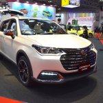Toyota Corolla Cross Fielder front quarter at the 2015 Tokyo Motor Show