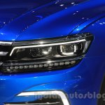 VW Tiguan GTE concept headlight at the 2015 Tokyo Motor Show