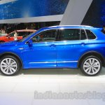 VW Tiguan GTE concept side at the 2015 Tokyo Motor Show