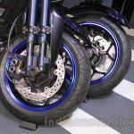 Yamaha MWT-9 wheels at 2015 Tokyo Motor Show