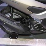 Yamaha NMAX 125 exhaust at 2015 Tokyo Motor Show
