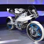Yamaha PES2 front quarters at the 2015 Tokyo Motor Show