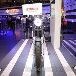 Yamaha Resonator125 front at 2015 Tokyo Motor Show