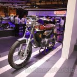 Yamaha Resonator125 front quarter at 2015 Tokyo Motor Show