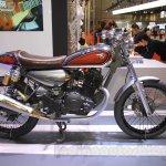 Yamaha Resonator125 side at 2015 Tokyo Motor Show